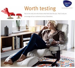 Stressless Metropolitan Sofa By Ekornes Stress Free Delivery