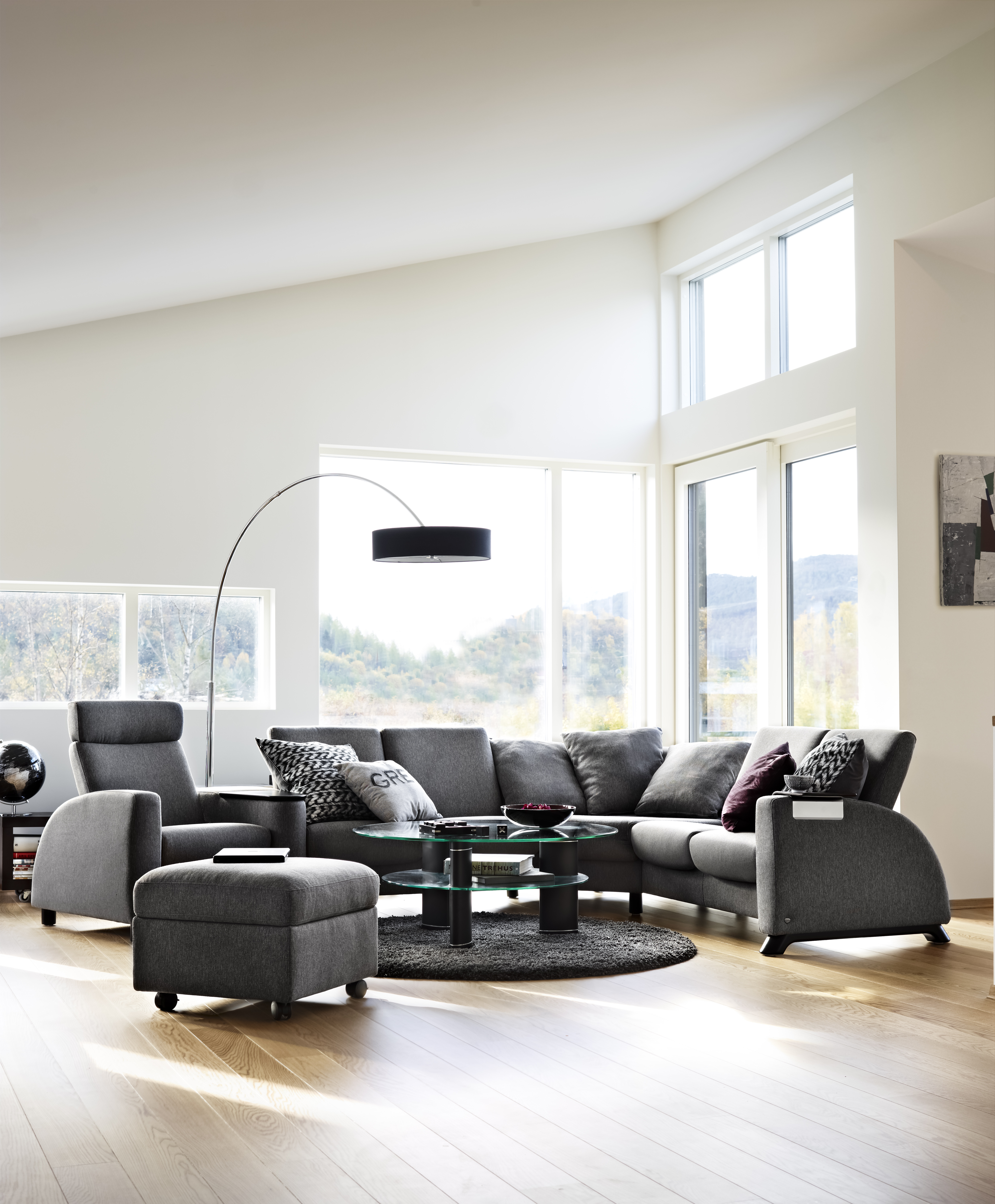 Arion Sectional with 1 Seater shown.