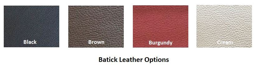 Batick Specially Priced Leather Colors