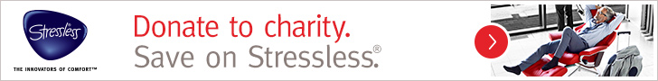 2015 Winter Charity Promotion for all Ekornes Stressless Seating.