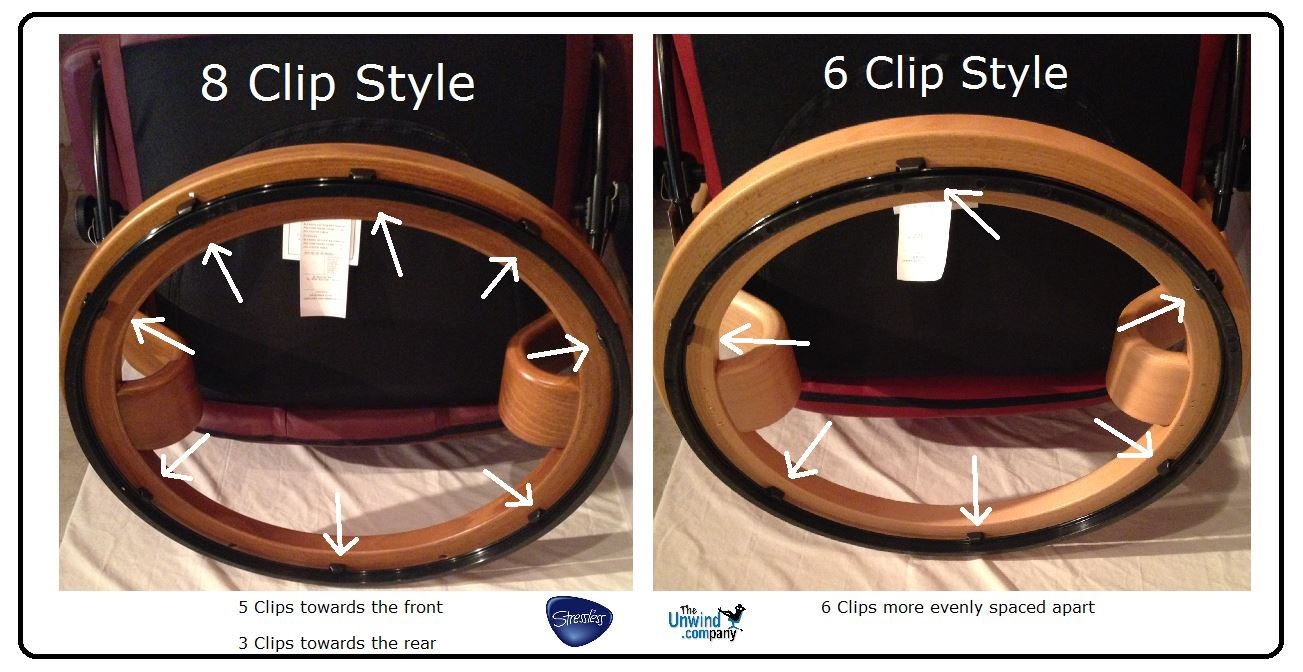 Compare the Elevator Rings from Stressless