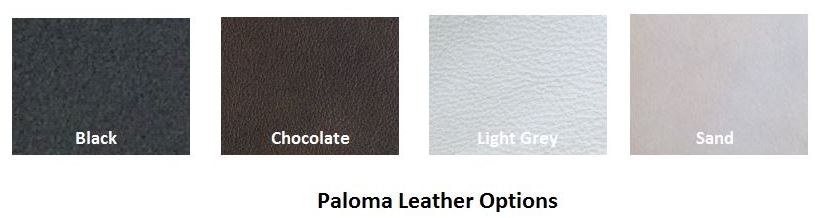 Paloma Special Color Selection for Space Loveseat.