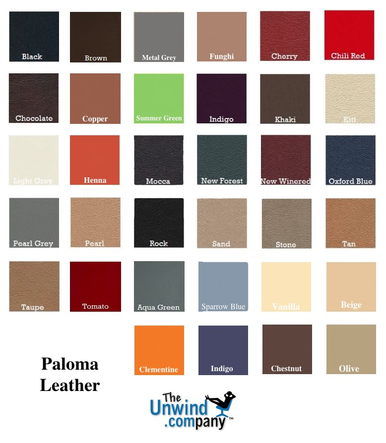 Ekornes Stressless Paloma Leather Colors 2016