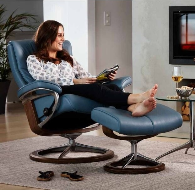 Relax and Unwind in your new Stressless Recliner.
