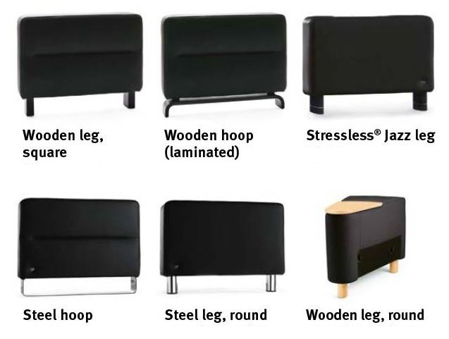 Space Sofa - Leg Choices