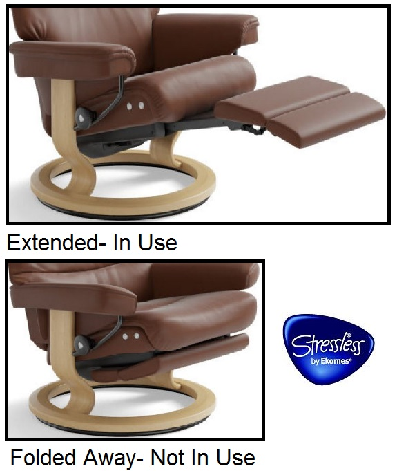 Stressless LegComfort- Electric Leg Rest