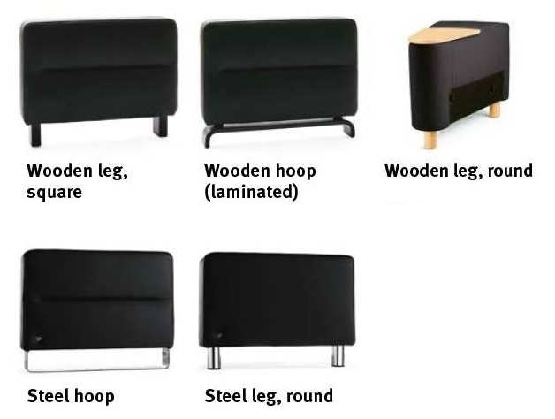 Different Leg Options - Stressless Wave